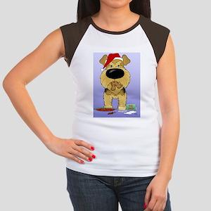 AiredaleBlue Women's Cap Sleeve T-Shirt