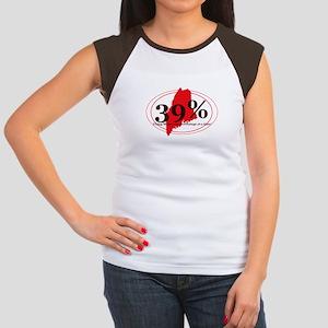 39% Women's Cap Sleeve T-Shirt