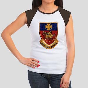 USS HANK Junior's Cap Sleeve T-Shirt