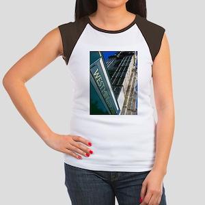 Westminster Abbey Women's Cap Sleeve T-Shirt