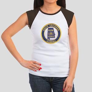 Alabama Bomb Squad Women's Cap Sleeve T-Shirt