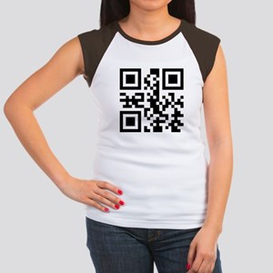 GO FUCK YOURSELF QR CODE Women's Cap Sleeve T-Shir