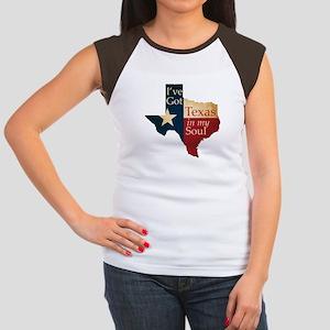 Texas in my Soul Women's Cap Sleeve T-Shirt