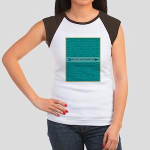 Cross Country Run Colla Women's Cap Sleeve T-Shirt