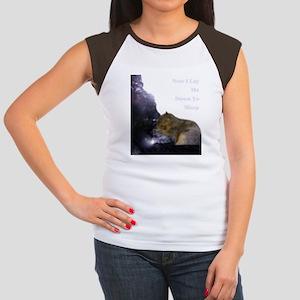 Spirit Squirrel Women's Cap Sleeve T-Shirt