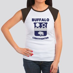 BuffaloLight Women's Cap Sleeve T-Shirt