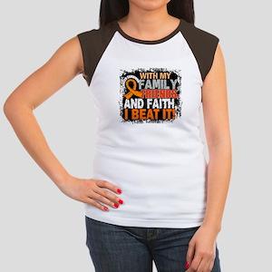 Leukemia Survivor Fami Junior's Cap Sleeve T-Shirt