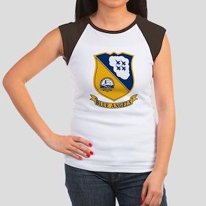 Blue Angels Insignia Women's Cap Sleeve T-Shirt
