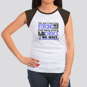 Prostate Cancer HowStro Women's Cap Sleeve T-Shirt