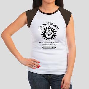 Winchester Bros. 6 Women's Cap Sleeve T-Shirt