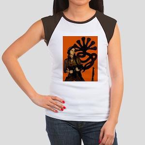 PATTY Women's Cap Sleeve T-Shirt