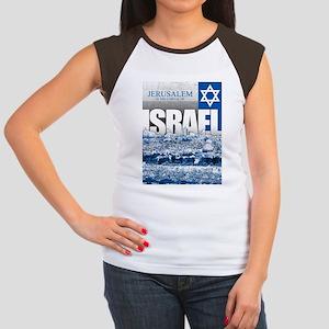 Jerusalem, Israel Women's Cap Sleeve T-Shirt