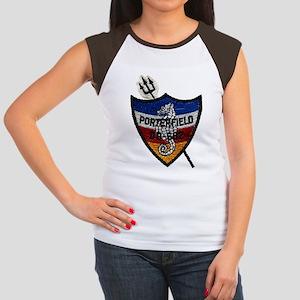 USS PORTERFIELD Women's Cap Sleeve T-Shirt