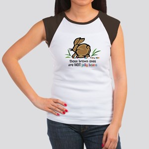 Brown Jelly Beans Women's Cap Sleeve T-Shirt