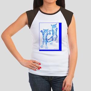 flying tigerscard 4x6 Women's Cap Sleeve T-Shirt