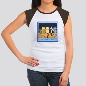 Love One Another - Cats / Kit Women's Cap Sleeve T