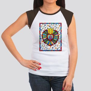Guadalupe Red Milagro Women's Cap Sleeve T-Shirt