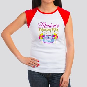SNAZZY 60TH DIVA Junior's Cap Sleeve T-Shirt