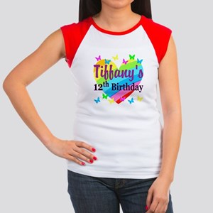 PERSONALIZED 12TH Junior's Cap Sleeve T-Shirt