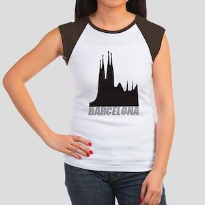 Barcelona Women's Cap Sleeve T-Shirt