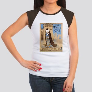The White Cat Vintage Book Co Women's Cap Sleeve T