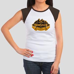 Whistler Mountain Emblem Women's Cap Sleeve T-Shir