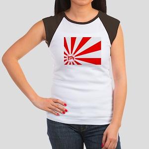Cap Sleeve Tee - TEQ Japan flag
