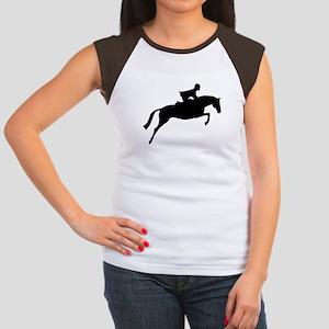 h/j horse & rider Women's Cap Sleeve T-Shirt