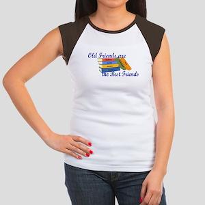 Books Best Friends Women's Cap Sleeve T-Shirt