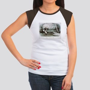 Fly fishing - 1879 Junior's Cap Sleeve T-Shirt
