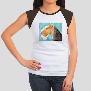 Airedale Terrier Women's Cap Sleeve T-Shirt