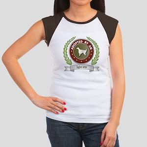 Setter Adopted Women's Cap Sleeve T-Shirt