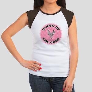 Queen Of The Coop Women's Cap Sleeve T-Shirt