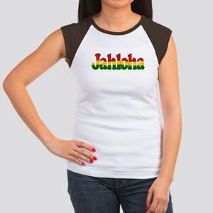 Jahloha Hawaiian Irie Women's Cap Sleeve T-Shirt