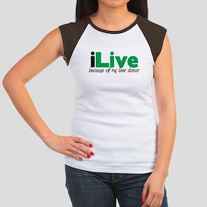 iLive Liver Women's Cap Sleeve T-Shirt