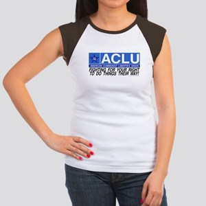 ACLU Women's Cap Sleeve T-Shirt