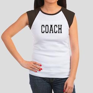 Coach Women's Cap Sleeve T-Shirt