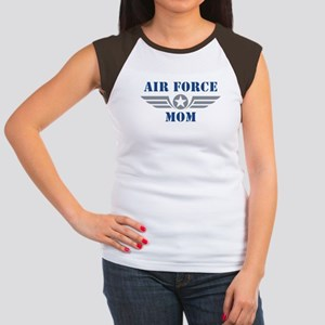 Air Force Mom Women's Cap Sleeve T-Shirt
