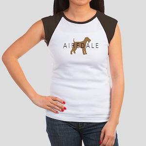 Airedale Women's Cap Sleeve T-Shirt