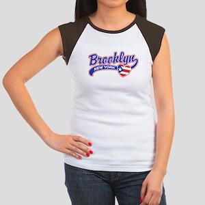 Brooklyn Puerto Rican Women's Cap Sleeve T-Shirt