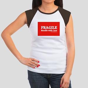 FRAGILE tag Women's Cap Sleeve T-Shirt