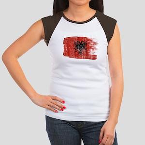 Albania Flag Women's Cap Sleeve T-Shirt