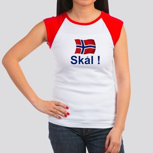 Norwegian Skal! Women's Cap Sleeve T-Shirt