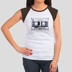 Customizable Cassette T Women's Cap Sleeve T-Shirt
