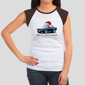BabyAmericanMuscleCar_B01_69_Camaro_Xmas_Blue T-Sh