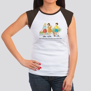 Jane Knows Connie She... Lesb Women's Cap Sleeve T