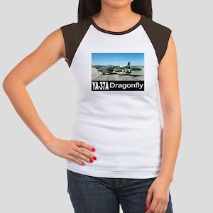 A-37 Dragonfly Women's Cap Sleeve T-Shirt