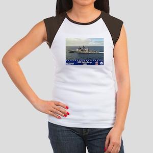 USS Valley Forge CG-50 Women's Cap Sleeve T-Shirt