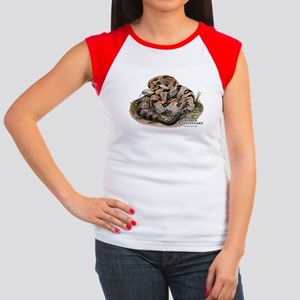 Timber or Canebrake Rattlesnake Women's Cap Sleeve