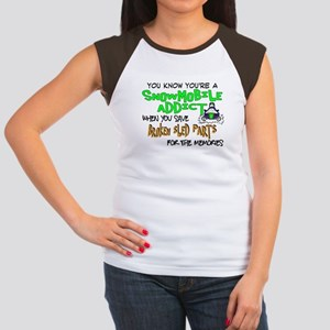 Sled Parts Memories Women's Cap Sleeve T-Shirt